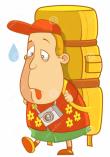 Overloaded Tourist